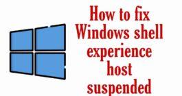 Что это Shell Experience Host в системе Windows 10 и как отключить процесс