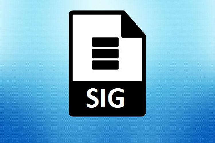 Чем открыть файл с расширением SIG