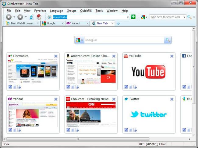 Слим browser