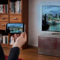 Подключение смартфона к телевизору через кабеля USB, HDMI или без проводов