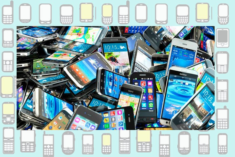 Куча смартфонов