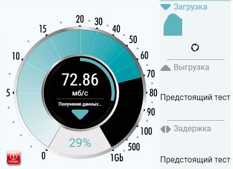 Проверка интернет скорости