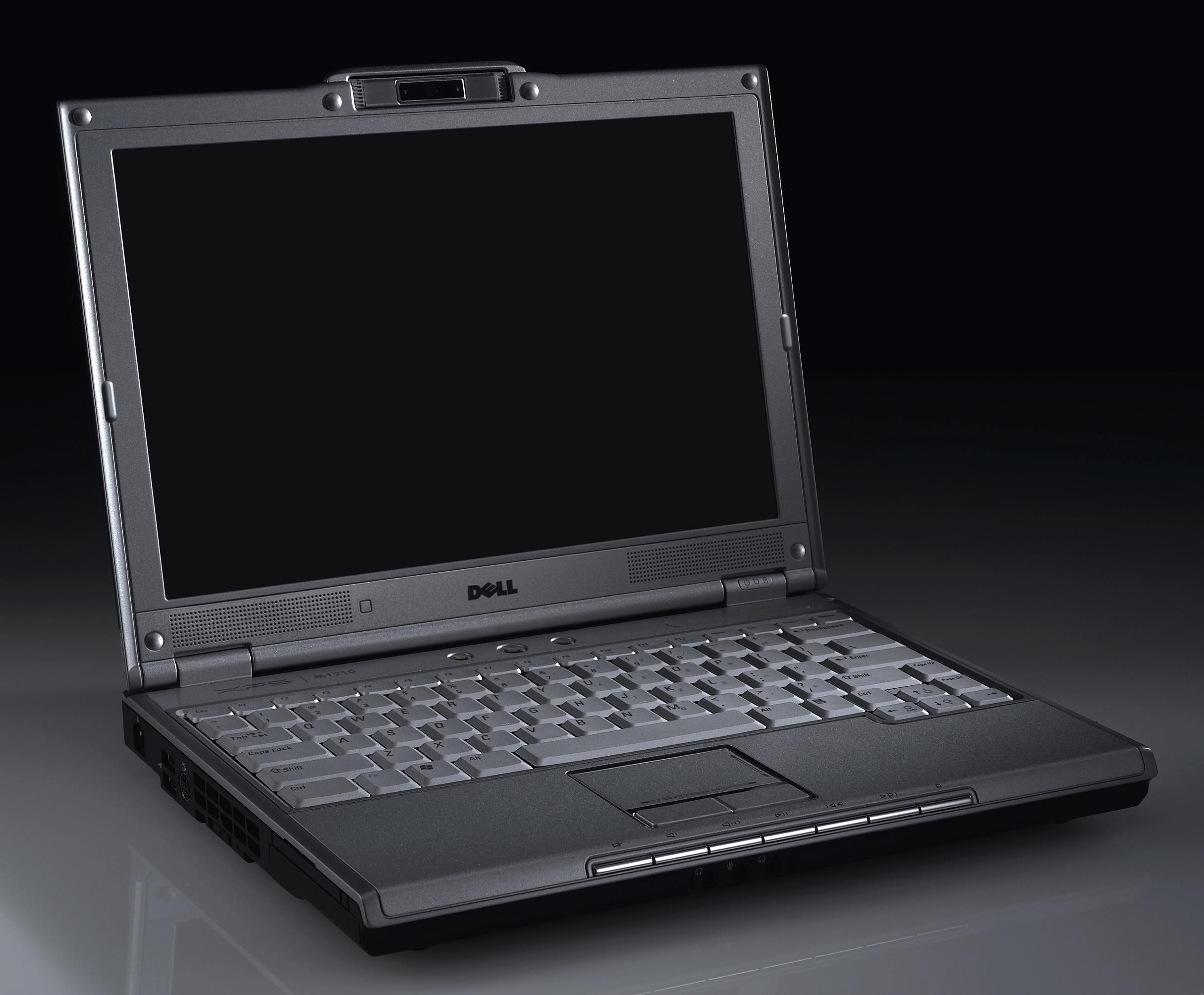 старый ноутбук