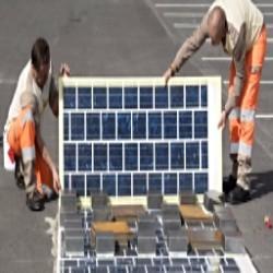 Построена первая в мире «солнечная дорога»