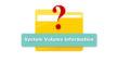System Volume Information что это за папка Windows 10 на диске D, на флешке – как удалить, вирус ли это?