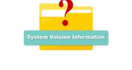 System Volume Information что это за папка Windows 10 на диске D, на флешке — как удалить, вирус ли это?
