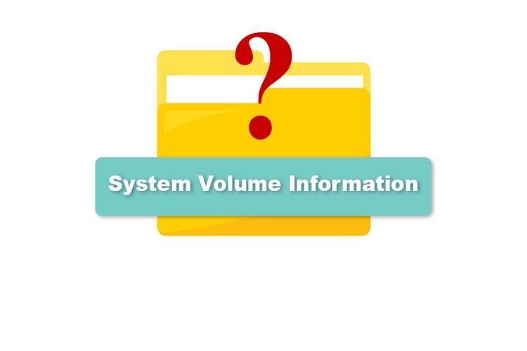 Можно ли удалить System Volume Information