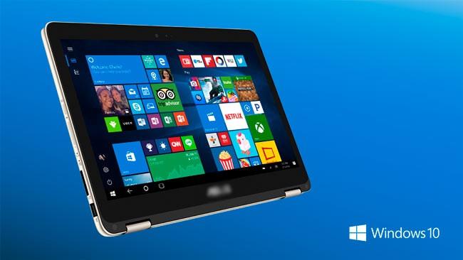 Активация режима планшетного ввода Windows 10