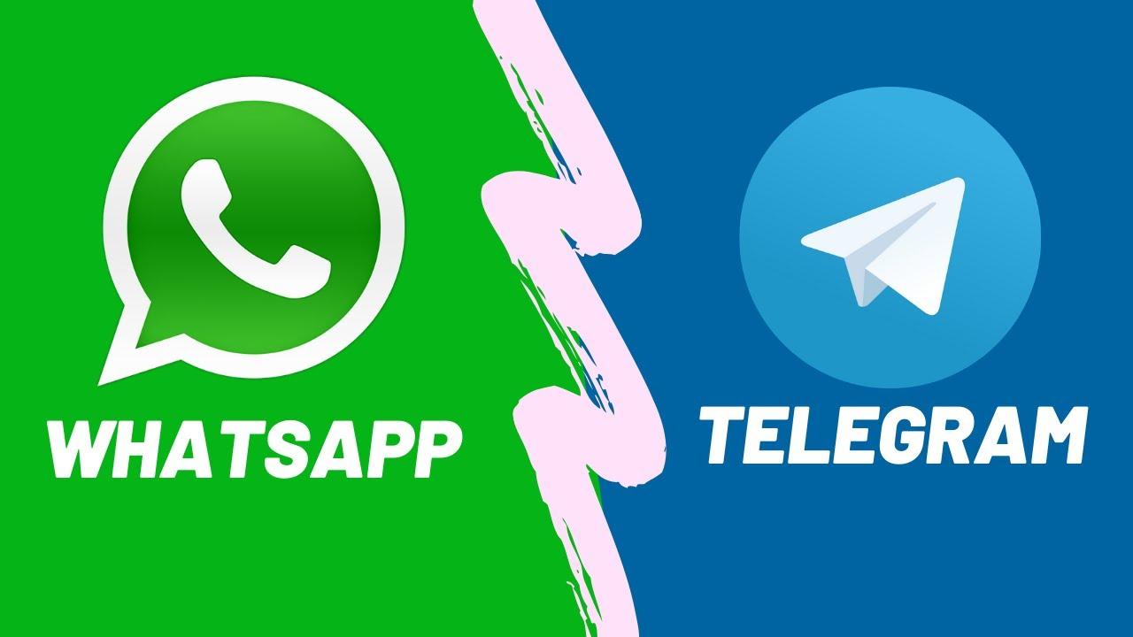 Телеграм и ватсап