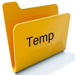 Переносим папку TEMP на другие диски