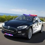 Полицейский автомобиль Тесла