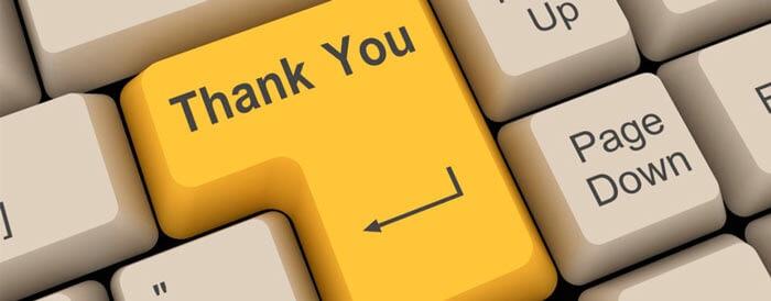 Клавиатура Thank you