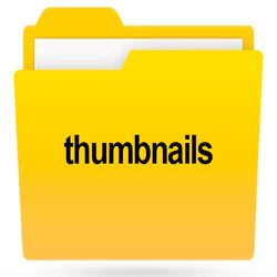 Папка thumbnails на Android, Windows, iPhone
