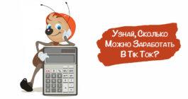 Как рассчитать доход с ТикТок-калькулятором онлайн и счетчики на русском