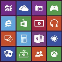 элементы, блоки приложений Windows