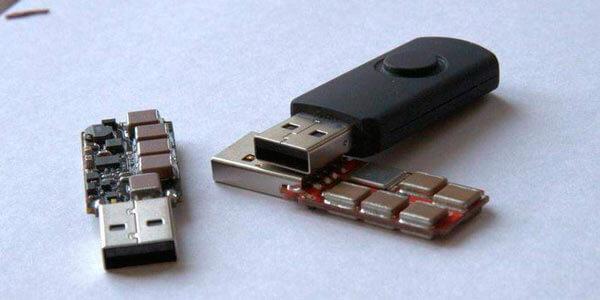USB Killer в разобранном виде