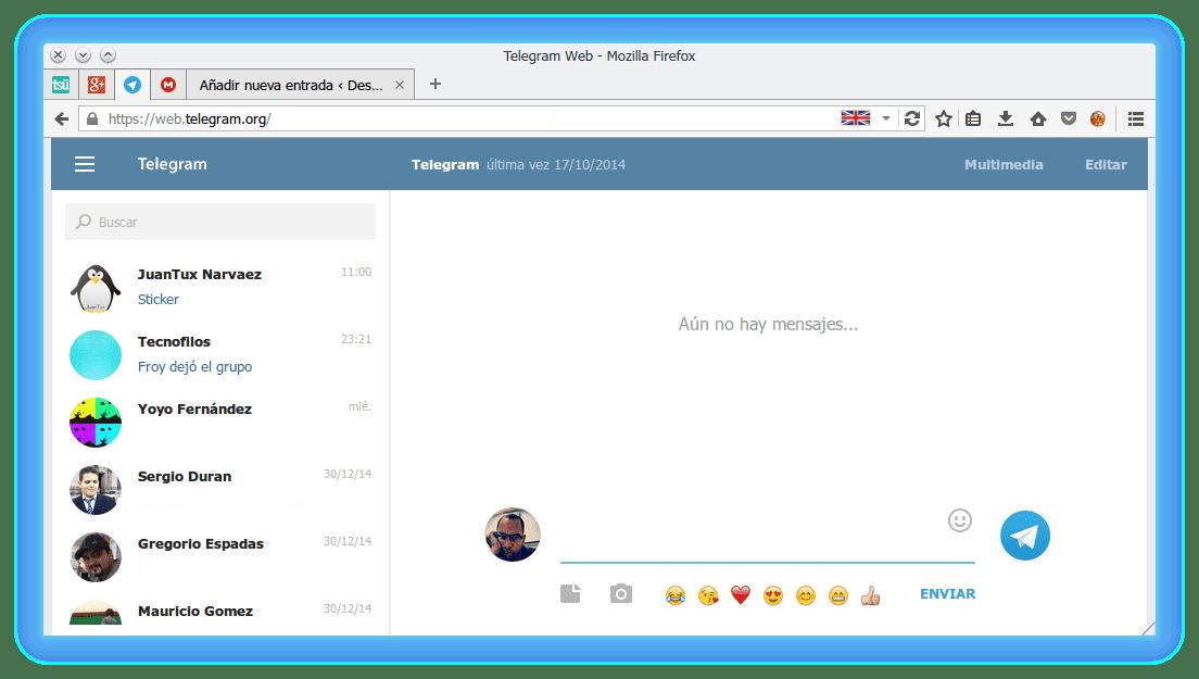 Веб-версия Телеграма