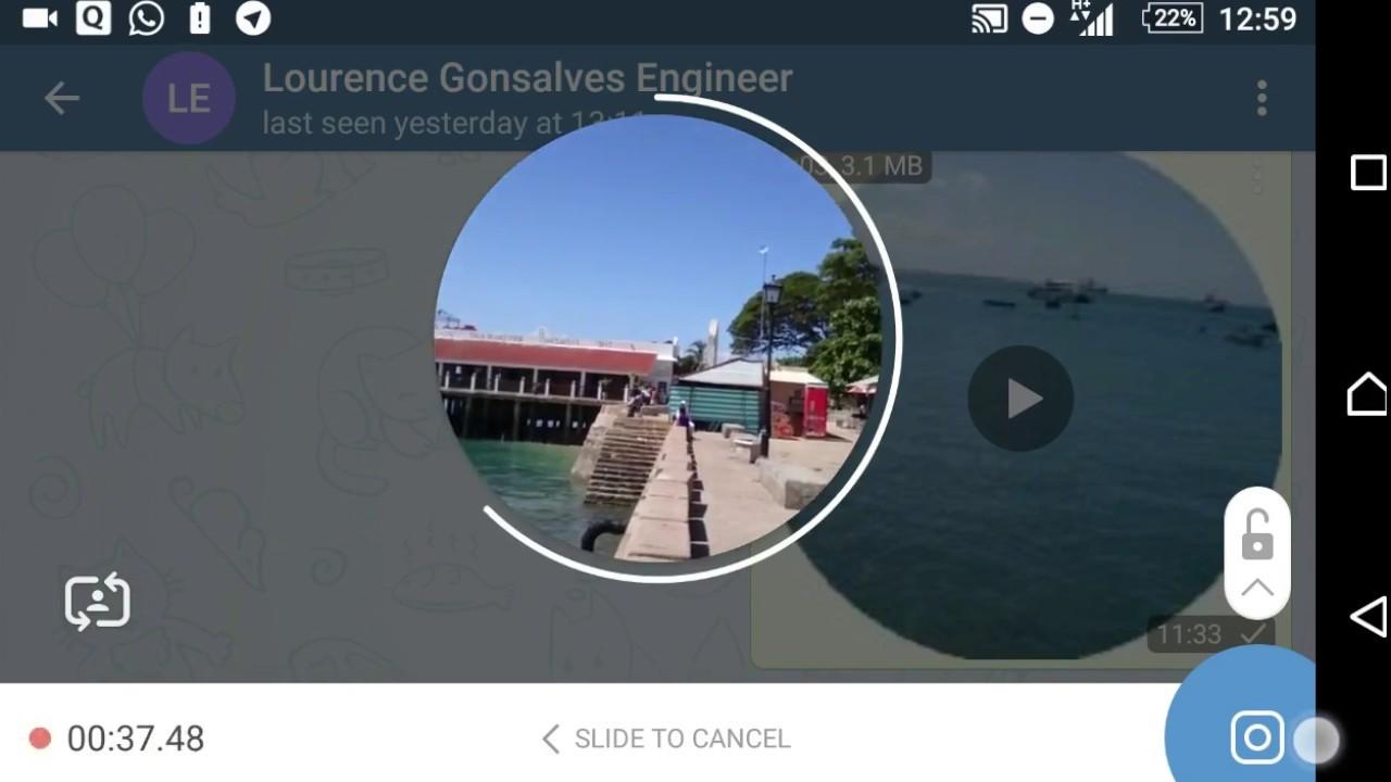 видео в Телеграм