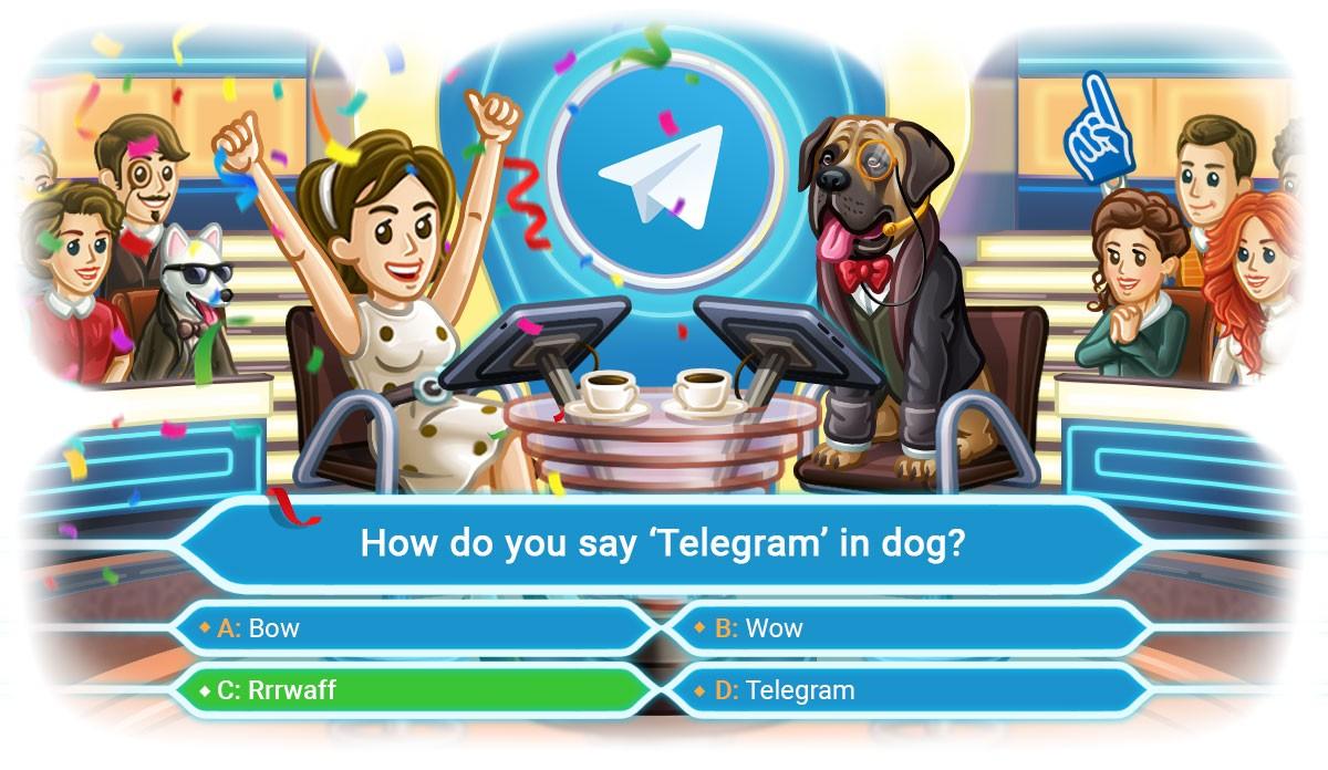 викторина опрос в телеграм