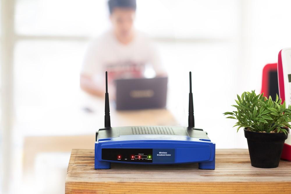 wi-fi роутер в квартире