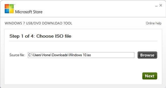Windows на USB из ISO