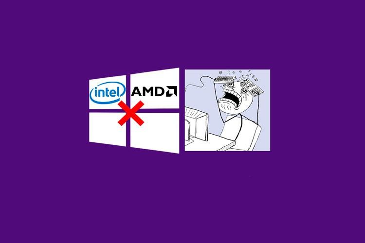 Проблема с драйверами Intel и AMD в Windows 10 1903