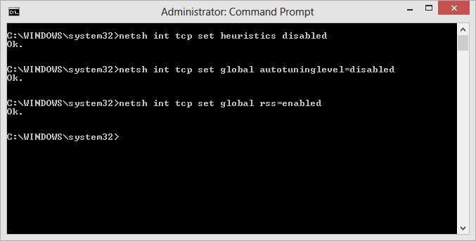 Отключаем автотюнинг TCP_IP