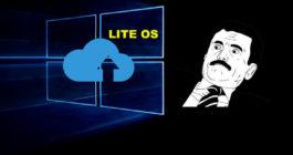Не каждому по зубам: в Microsoft рассказали о новой облегченной операционной системе Lite OS