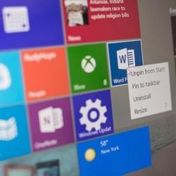 Удаляем лишние приложения от Windows 10
