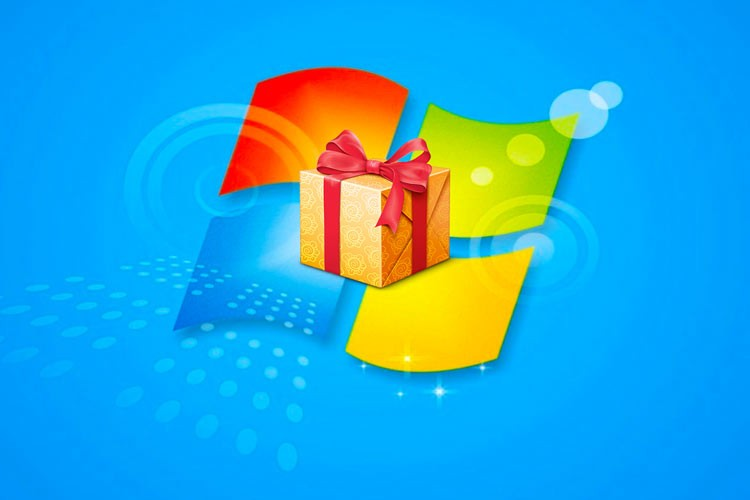 Windows 7 gift