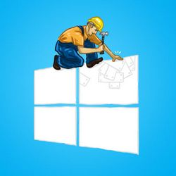Убираем надпись Windows Technical Preview