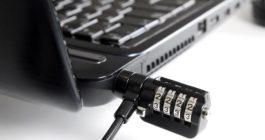 Зачем нужно отверстие с замочком на ноутбуке или мониторе
