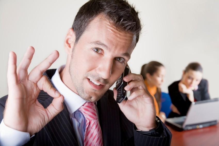 звонки по телефону